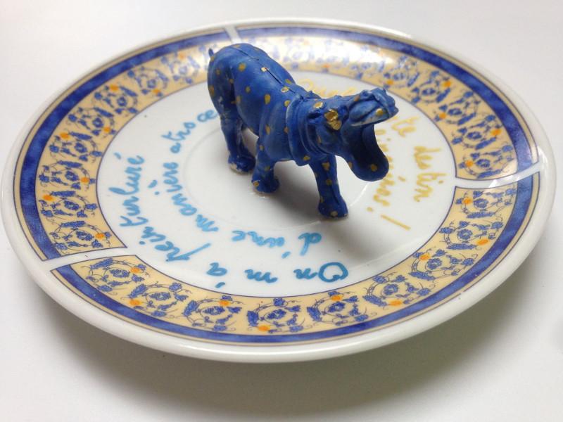 VPK rhinoceros hippopotame depite